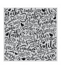 Hero Arts Bold Prints Rubber Cling Stamp-Family Word