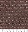 Premium Prints Cotton Fabric 43\u0022-Diamonds on Brown