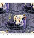 Disney Villain Halloween Cotton Fabric 43\u0022-Friends