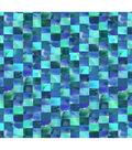 Keepsake Calico Cotton Fabric -Teal & Blue Mosaic