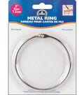 Metal Rings-3\u0022 1/Pkg