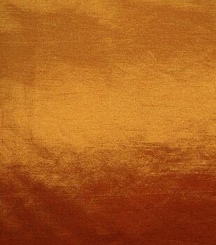 Harvest Cotton Fabric-Shimmer Foil Orange