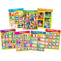 Carson-Dellosa Early Learning Charts Set of 7