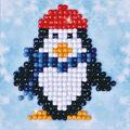 Diamond Dotz Diamond Embroidery Art Kit 4.75\u0027\u0027X4.75\u0027\u0027-Penguin Waddle