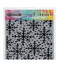 Ranger Christmas Dyan Reaveley\u0027s Dylusions Small Stencil-Snowflakes