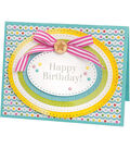 Sizzix Framelits Stephanie Barnard 8 Pack Dies-Dotted Ovals
