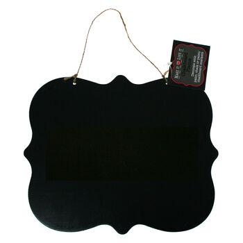 Make It Love It Chalkboard Plaque Large Fancy Rectangle