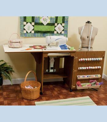Homespun 5700 Cabinet Louvered Door Cabinet Oak