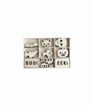 Maker's Halloween Craft Mini Wood Pack