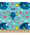 Finding Dory Flannel Fabric -Happy Girl