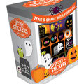 Halloween Tear & Share with Friends! 240 Stickers-Spooky