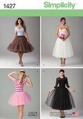 Simplicity Pattern 1427R5 14-16-18-2-Misses Skirts Pants