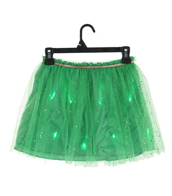 St. Patrick's Day Decor Light Up Tutu