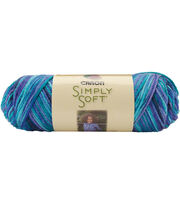 Caron Simply Soft Paints Yarn, , hi-res