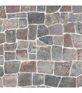 Flagstone Grey Flagstone Rock Wall Texture Wallpaper Sample