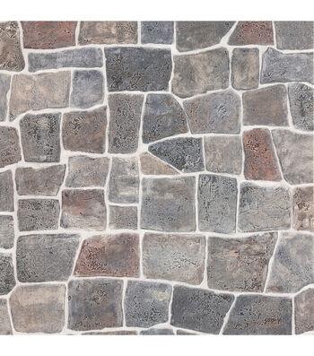 Flagstone Grey Flagstone Rock Wall Texture Wallpaper