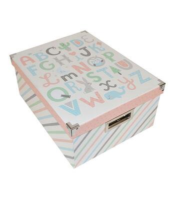 Organizing Essentials Large Storage Box-ABC