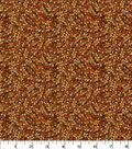 Quilter\u0027s Showcase Cotton Fabric-Groovy Petals on Orange