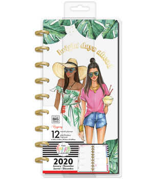 Happy Planner x Rongrong Skinny Classic 2020 Planner-Bright Days Ahead