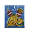 Fast Food Asst Appliques- 5 Pc