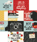 Say Cheese III Double-Sided Elements Cardstock 12\u0022X12\u0022-Journaling Card