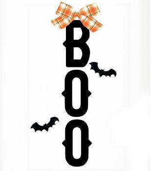 Maker's Halloween Door Décor Kit-Boos & Bats