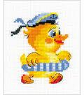 RIOLIS Happy Bee 5\u0027\u0027x6.25\u0027\u0027 Counted Cross Stitch Kit-Sailor