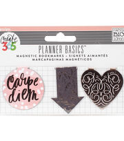 The Happy Planner Magnetic Clips-Rose, , hi-res