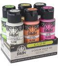 FolkArt 6 Color Value Set-Glow Halloween