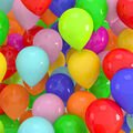 Celebration Cotton Fabric-Packed Balloon Multi