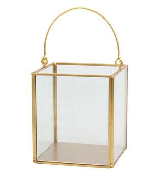 Hudson 43 4.5'' Frame Lantern-Copper