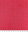 Brocades & Saris Fabric -Tango Red Geometric