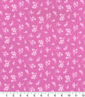 Quilter\u0027s Showcase Fabric -Ditsy Floral on Opera Mauve