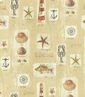 Waverly Upholstery Fabric 54\u0022-Resort Sandcastle