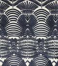 Embroidered Mesh Decor Fabric 56\u0022-Mazarine Blue