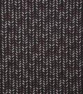 Keepsake Calico Cotton Fabric-Watercolor Stamp Black