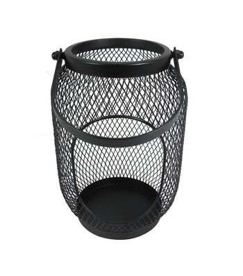 Seaport Large Metal Canister-Black