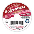 Soft Touch Wire Very Fine, .010 Diameter, 7 Strand, Premium Satin Silver