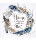 Janlynn Carol Robinson 12\u0027\u0027x12\u0027\u0027 Stamped Cross Stitch Kit-Build Our Nest