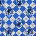 Harry Potter Flannel Fabric-Ravenclaw Argyle