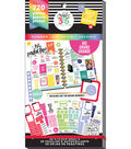 The Happy Planner Sticker Value Pack-Big ROYGBIV