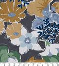 Robert Allen @ Home Print Swatch 55\u0022-Splashy Garden Greystone