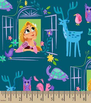 Disney Tangled Series Print Fabric- Dear Tower