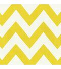 HGTV Home Upholstery Fabric-Chevron Chic/Sunshine