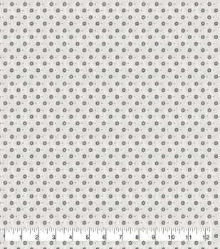 Wide Flannel Fabric-Swank Geo Floral