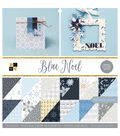 DCWV 12\u0022x12\u0022 Premium Stack-Blue Noel