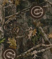 Chicago Cubs Fleece Fabric-TrueTimber, , hi-res