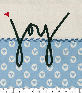 ED Ellen DeGeneres Upholstery Fabric 27''-Denim with Joy