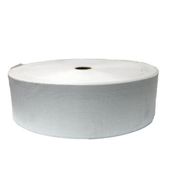 "Pellon 3"" x 50yd Roll Knit Elastic- White"