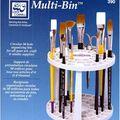 Multi Bin Brush/Tool Holder
